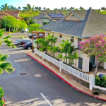 Residential housing in Kihei, Hawaii.