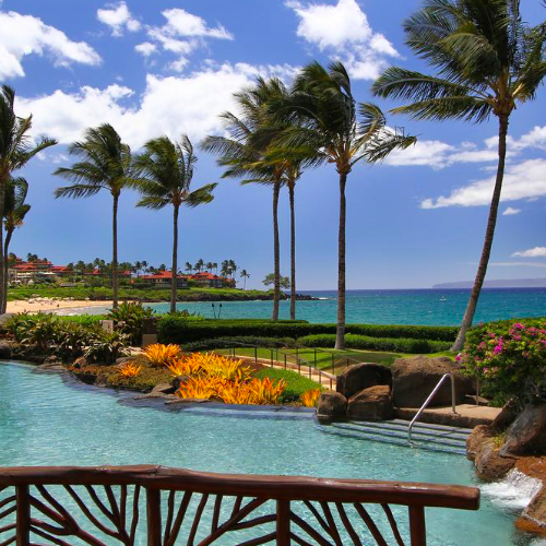 Wailea Beach Villas Oceanfront Pool